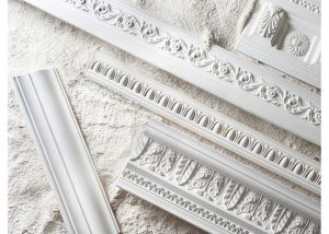 New Jersey plaster mouldings ready for installation